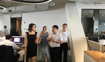 董事长一行到领地集团交流、学习,商洽合作事宜