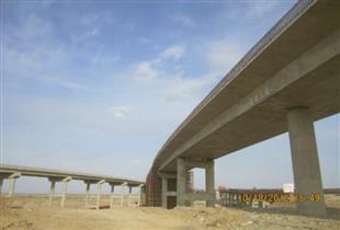甘肃武威双塔立交桥