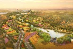 鸡茵香河谷口文化公园道路及桥梁项目