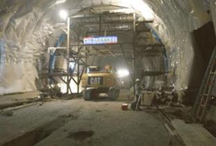 拉林铁路项目隧道