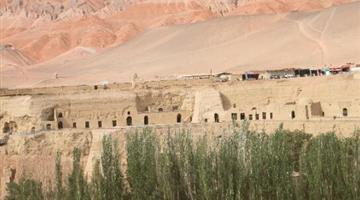 新疆柏孜克里克千佛洞石窟维修工程