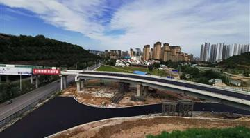 宝鸡茵香河谷口文化公园道路及桥梁工程